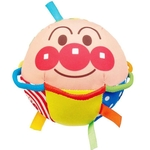 Cartoon Baby Soft Cloth Ball Rattle Ring Bell Colorful Ribbon Infant Grasp Toy