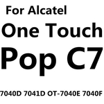 9H Tempered Glass For Alcatel One Touch Pop C3 C5 C7 C9 pixi 3 4 3.5 4.0 4.5 5.0 idol 2 3 4.7 5.5 Screen Protector Film Cas!